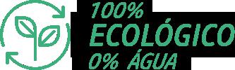 100% Ecologico 0% Agua